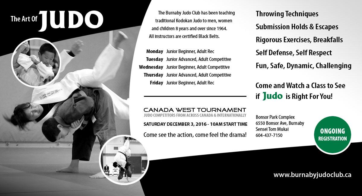 Burnaby Judo Club Membership Registration