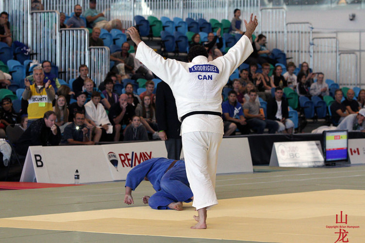 Brian Hampson Judo Photos